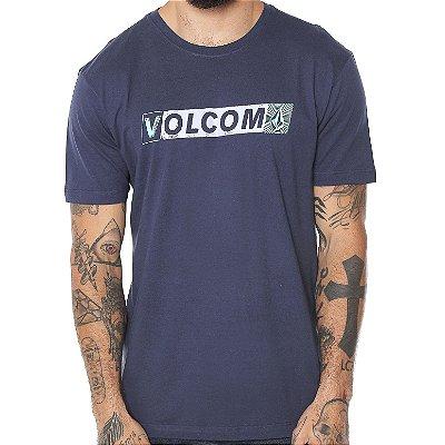 Camiseta Volcom Silk Transmit Azul Marinho
