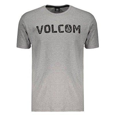Camiseta Volcom Silk Bold Cinza