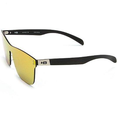 Óculos de Sol HB H-Bomb Mask Matte Graphite I Red Chrome