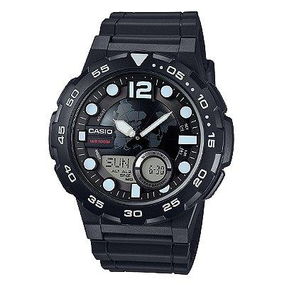 Relógio Casio Standard AEQ-100W-1AVDF Preto