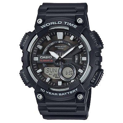 Relógio Casio Standard AEQ-110W-1AVDF Preto