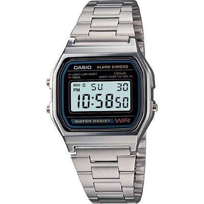 Relógio Casio Vintage A158WA-1DF Prata