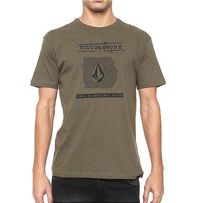 Camiseta Volcom Silk Volcom I D Verde