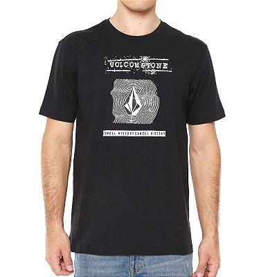 Camiseta Volcom Silk Volcom I D Preta