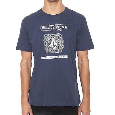 Camiseta Volcom Silk Volcom I D Azul