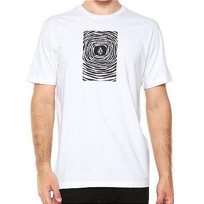 Camiseta Volcom Silk Engulf Branca