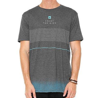 Camiseta Hang Loose Especial Pavones Cinza