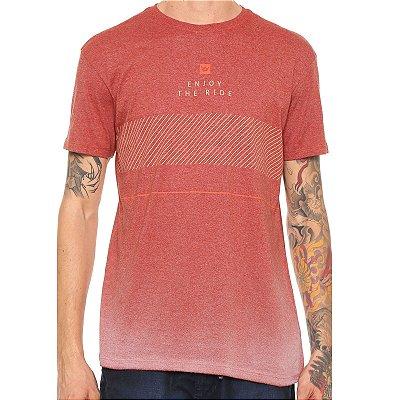 Camiseta Hang Loose Especial Pavones Vermelha