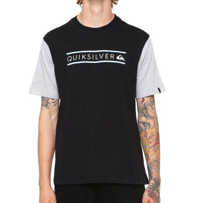 Camiseta Quiksilver Schwack Preta