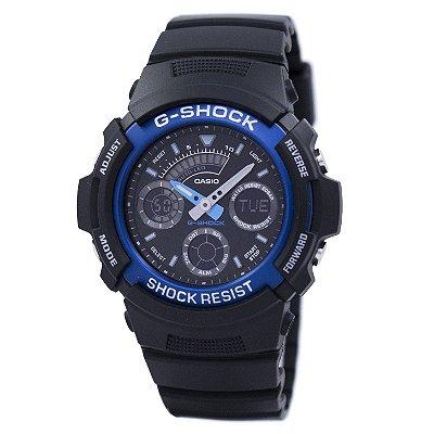 Relógio G-Shock AW-591-2ADR Preto/Azul