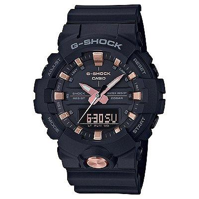 Relógio G-Shock GA-810B-1A4DR Preto/Rosa