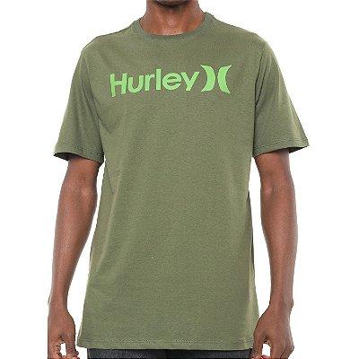 Camiseta Hurley Silk O&O Solid Verde Escuro