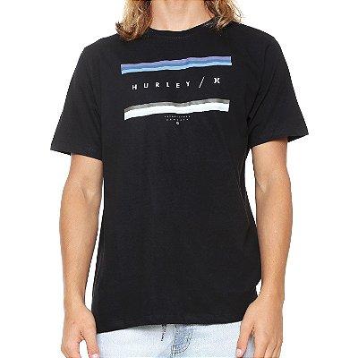 Camiseta Hurley Silk Grades Preta