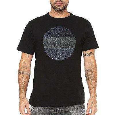 Camiseta Hurley Silk Circular Preta