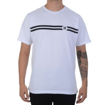 Camiseta Hurley Silk BP Branca