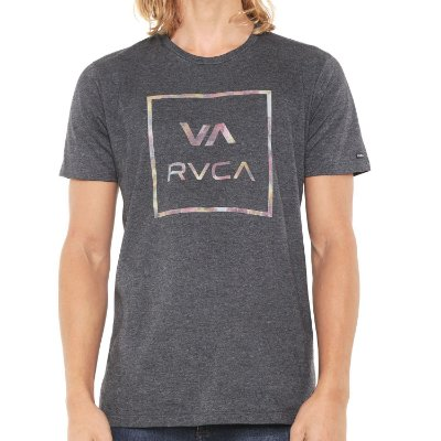 Camiseta RVCA Fill All The Way Cinza