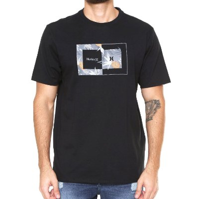 Camiseta Hurley Silk Sweet Day Preta