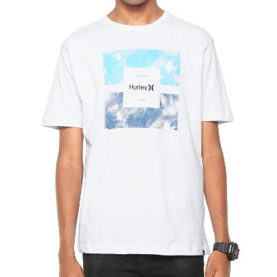 Camiseta Hurley Silk Enclosed Branca