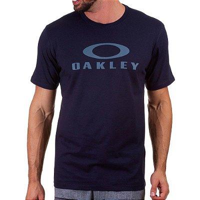 Camiseta Oakley O-Bark Azul Marinho