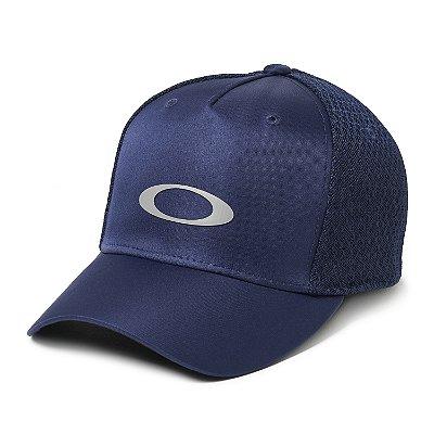 Boné Oakley BG Game Azul Marinho