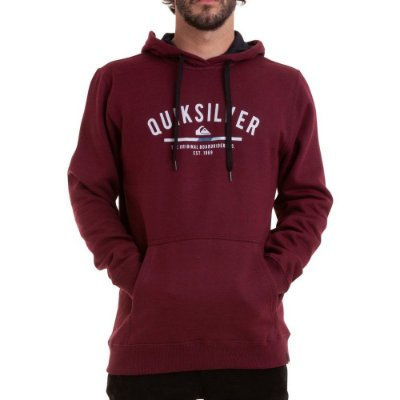 Moletom Quiksilver Simple Colour Vinho