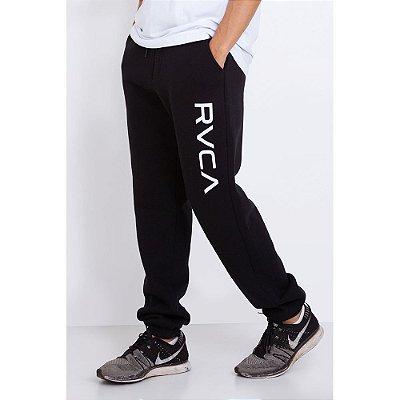 Calça Moletom RVCA Big RVCA Sweat Preta
