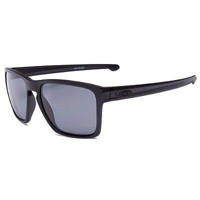 Óculos de Sol Oakley Sliver XL Matte Black W/ Grey Polarized