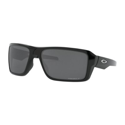 Óculos de Sol Oakley Double Edge Polished Black W/ Prizm Black Polarized