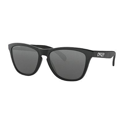 7875d53c6 Óculos de Sol Oakley Frogskins Matte Black W/ Black Iridium Polarized