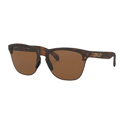 Óculos de Sol Oakley Frogskins Lite Matte Brown Tortoise W/ Prizm Tungstein