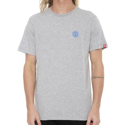 Camiseta Element Soft Crew Cinza