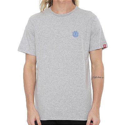 Camiseta Element Soft Crew Cinza