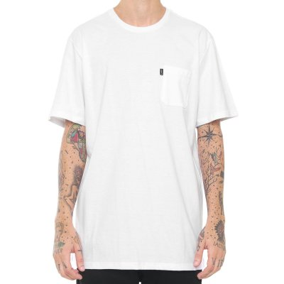 Camiseta Element Minimal Pocket Branca