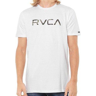 Camiseta RVCA MC Floral Branca