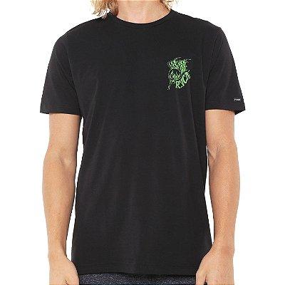 Camiseta RVCA Scull Dragon Preta