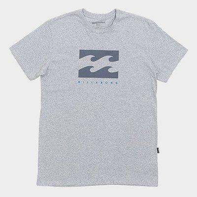 Camiseta Billabong Originals Secret Cinza