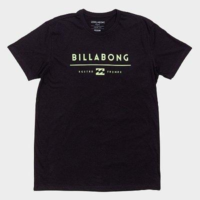 Camiseta Billabong Originals Basic Preto