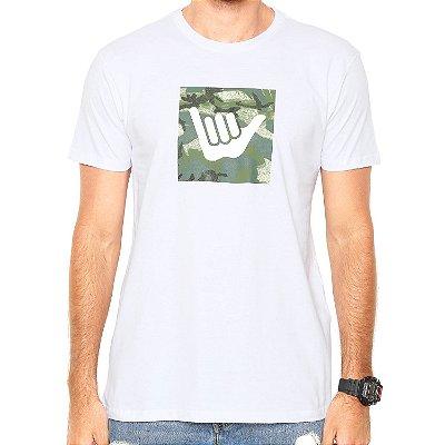 Camiseta Hang Loose Silk Logoarmy Branca