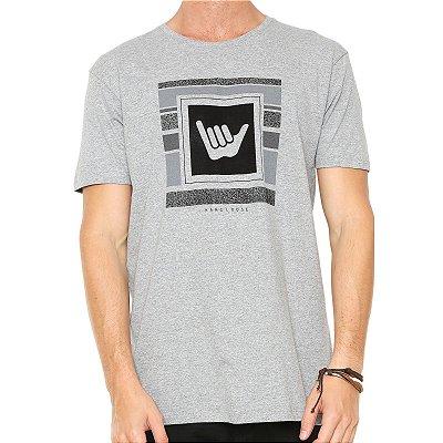 Camiseta Hang Loose Silk Logostripe Cinza