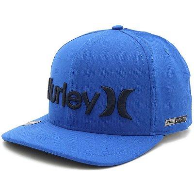 Boné Hurley O&Only Dri Fit Azul
