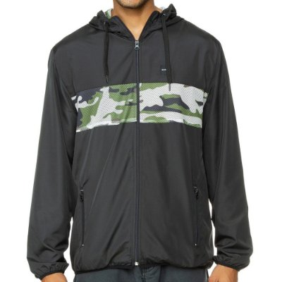 Jaqueta Oakley Dispatch Windbreaker Preta