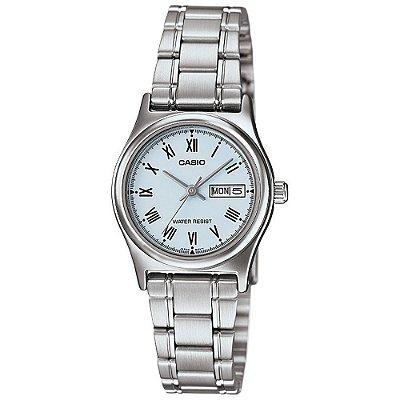 Relógio Casio LTP-V006D-2BUDF Prata