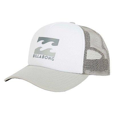 Boné Billabong Podium Trucker Branco/Cinza