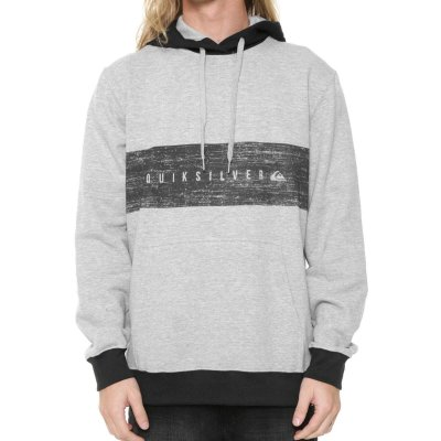 Moletom Quiksilver Quik Chest Cinza