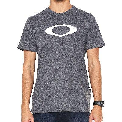 Camiseta Oakley O-Ellipse Cinza
