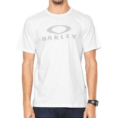 Camiseta Oakley O-Bark Branca