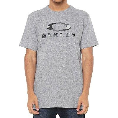Camiseta Oakley O-Bark Cinza