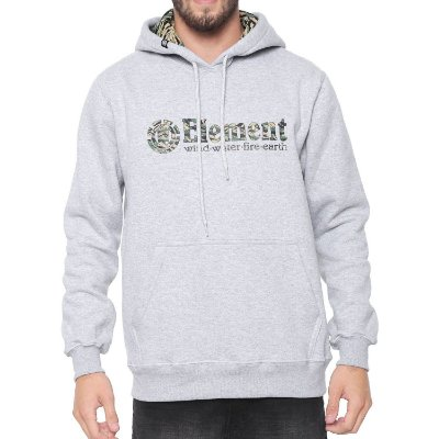 Moletom Element Plumber I Cinza