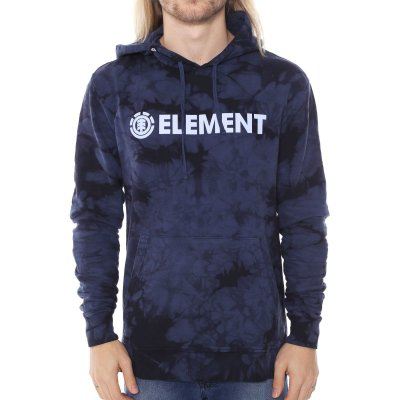 Moletom Element Stroke Hood Azul Marinho