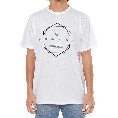 Camiseta Oakley Cranked Hex Branca